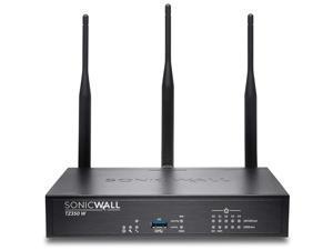 SonicWall TZ350 Network Security/Firewall Appliance 5 Port 10/100/1000Base-T Gigabit Ethernet Wireless LAN IEEE  802.11ac Model 02-SSC-4465