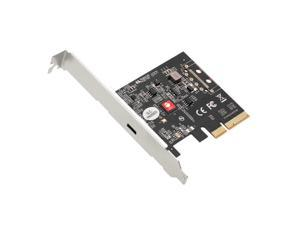 SIIG Single USB 3.2 Type-C Gen 2x2 20G PCIe Card Dual Profile Design JUP20D11S1