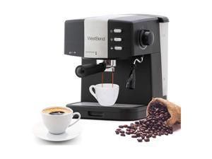 West Bend 55100 15 Bar Pressure Pump Espresso Coffee Latte and Cappuccino Maker