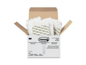 COMMAND 17201-S132NA Picture Hanger,Adhesive Back,PK132