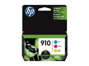 HP 910 (3YN97AN) Ink Cartridges, 315 Page Yield (3-pack), Cyan/Magenta/Yellow