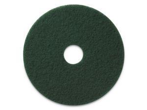 "Americo Scrubbing Pads 17"" Diameter Green 5/CT 400317"