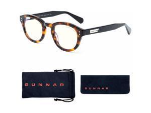 GUNNAR Gaming & Computer Glasses Emery Tortoise/Onyx Clear Tint EME09109