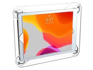 CTA Digital Wall Mount for iPad 7/8 Gen iPad Air 3 iPad Pro White PADSTAW