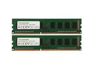 V7 4GB (2 x 2GB) DDR3 1600 (PC3 12800) Desktop Memory Model V7K128004GBD