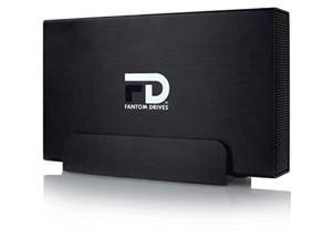 Fantom Drives 6Tb External Hard Drive - 7200Rpm Usb 3.0/3.1 Gen 1 + Esata + Firewire 800/400 Aluminum Case - Mac Windows Ps4 And Xbox