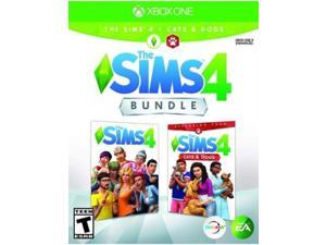 Sims 4 + Sims 4 Cats & Dogs Bundle - Xbox One