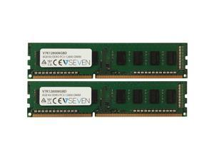 V7 8 GB (2 x 4 GB) DDR3 PC3 12800 1600MHZ DIMM Desktop Memory Module V7K128008GBD