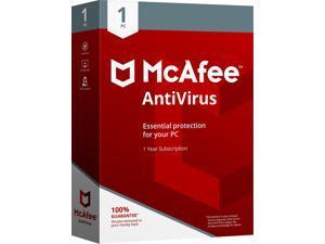 McAfee Antivirus 2018 - 1 PC