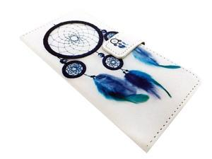 FastSun Wallet Pouch Phone Cover Case for Huawei Ascend XT GoPhone H1611 (2016) (Blue Dream Catcher)