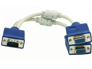 VGA Splitter Cable (2 Way) 0.25m