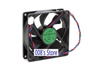 New Radiator CPU Cooler Fan For AD0912MX-A76GL G (T) 9225 92*92*25mm DC 12V 0.17A P/N 447580-001 Cooling 3 Wires