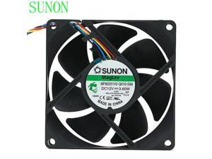 SUNON MF80251V2-Q010-S99 DC 12V 3.60W 4-wire 80x80x25mm Server Square Cooling Fan