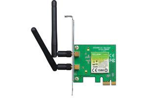 TP-Link TL-WN881ND 300Mbps Wireless N PCI Express Adapter w/ 2x 2dBi Antenna