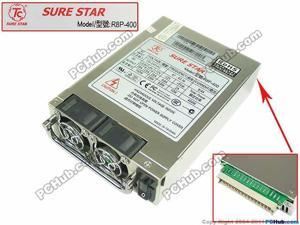 Emacro For SURE STAR R8P-400 9006-0051-11 Server Power Supply 400W PSU For Computer