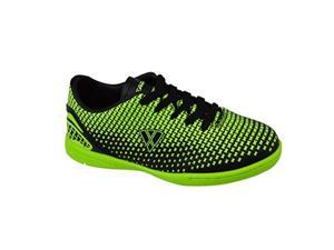 vizari unisex force in size 2 soccer shoe, green, 2 regular us little kid