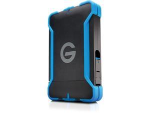 G-Technology 1TB G-DRIVE ev ATC Portable External Hard Drive with Tethered Thunderbolt Cable, All-Terrain Drive Solution (0G03586)