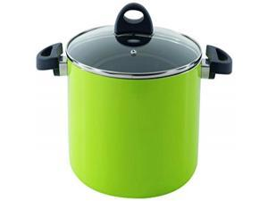 """BergHOFF Eclipse Covered Stockpot, 10"""", Lime"""