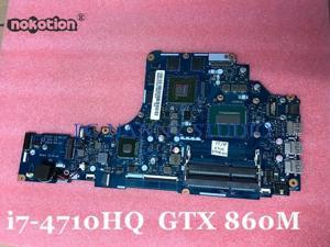 ZIVY2 LA-B111P Mainboard for Lenovo Y50-70 Intel Core i7-4710HQ 2.50GHz GTX 860M 4GB Notebook motherboard Tested
