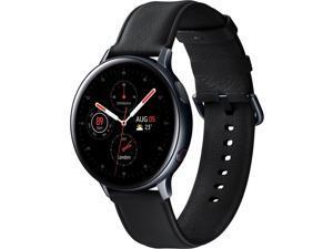 Samsung SM-R825USKAXAR Galaxy Watch Active 2 SS - 44mm/ Black Black