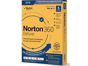 Norton 360 Deluxe For Up To 5 Devices 21390011