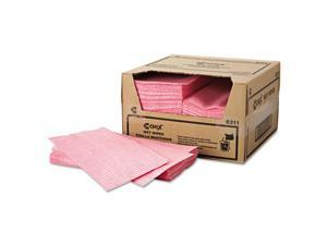 Chix Wet Wipes 11 1/2 x 24 White/Pink 200/Carton 8311