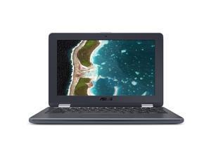 ASUS Chromebook Flip C214MA-YS02T-S 11.6 inch Intel Celeron N4000 1.1GHz/ 4GB LPDDR4/ 32GB eMMC/ USB3.1/ Chrome Notebook (Dark Grey)