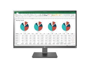 "LG 27BK67U-B 27"" 16:9 4K UHD 3840 x 2160 IPS Monitor with sRGB 99% and AMD FreeSync HDMI, DisplayPort, USB-C, Height Adjustable"