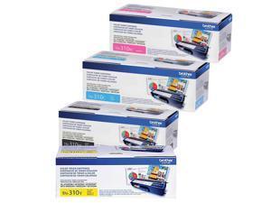 Brother TN310  Standard Yield Toner (4) Pack.  Includes (1) TN310BK, (1) TN310C, (1) TN 310M, (1) TN310Y