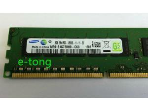 Memory/Ram 8GB PC3-12800E ECC UDIMM Unbuffered M391B1G73BH0-CK0 1.5V Samsung