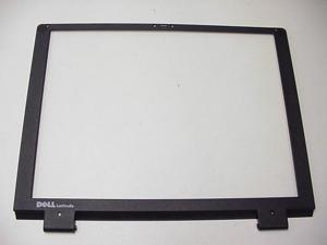 New Dell OEM Latitude C400 LCD Back Lid Top Cover WITH Hinges  3F200