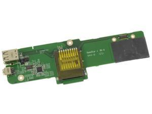 Dell OEM Vostro 1015 USB Firewire Card Reader IO Circuit Board MR7GX