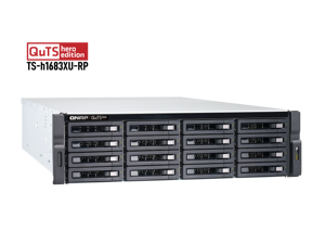 TS-h1683XU-RP-E2236-128G-US QNAP 16-Bay 3U rackmount NAS