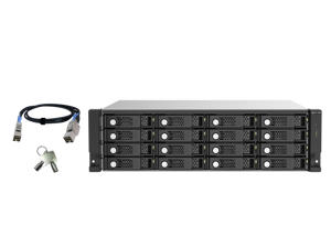 TL-R1620Sep-RP-US 16-bay 3U rackmount SAS 12Gbps JBOD expansion enclosure with SAS expander