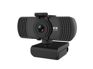 Webcam,  PC-06 Mini 360 Degrees Rotating 4.0 MP HD Auto Focus PC Webcam with Noise Reduction Microphone