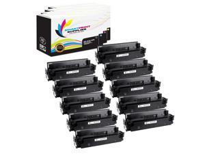 5 Pack Black, Cyan, Yellow, Magenta Smart Print Supplies Compatible 410X CF410X CF411X CF412X CF413X Premium High Yield Toner Cartridge Replacement for HP Laserjet Pro M452 M477 Printers