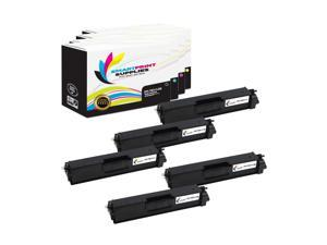 Smart Print Supplies Compatible C540 C540H1KG C540H1CG C540H1MG C540H1YG High Yield Toner Cartridge Replacement for Lexmark C540 C543 C544 C546 BK, C, M, Y - 5 Pack X543 X544 X546 Printers