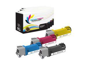 Smart Print Supplies 106R02759 106R02756 106R02757 106R02758 Compatible Toner Cartridge Replacement for Xerox Phaser 6022 - 8 Pack Black, Cyan, Magenta, Yellow Workcentre 6027 Printers