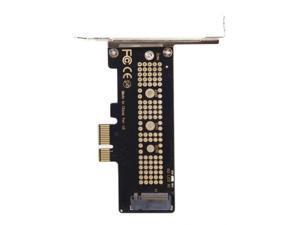 Cablecc Low Profile PCI-E 3.0 x4 Lane to M.2 NGFF M-Key SSD Nvme AHCI PCI Express Adapter Card
