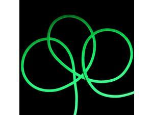 50' Neon Green LED Flexible Christmas Rope Lights