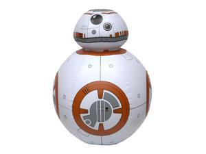"""26"""" Star Wars Gold and White BB-8 Life Sized Droid Inflatable Swimming Pool Toy"""