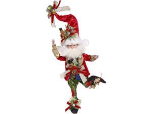 """Mark Roberts Red and White Santa Claus Collectible Christmas Fairy - Small 10"""""""