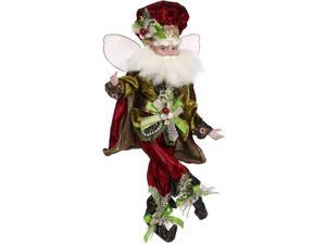 """Mark Roberts Red and Gold Luxe Lodge Christmas Fairy - Medium 16"""""""
