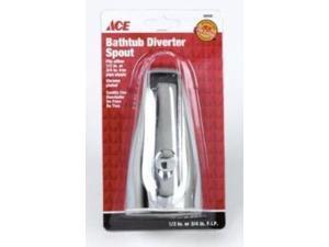 Ace Bathtub Diverter Spout, Chrome, 40046