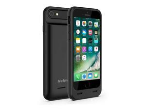 Nekteck iPhone 7 Plus Battery Case, [Apple certified Connector] 4000mAh iPhone 7 Plus battery Case External Protective Charger Charging Case Backup Pack Cover Juice Bank For iPhone 7 Plus - Black