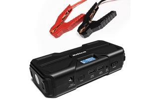 Nekteck Multifunction Car Jump Starter Portable External Battery Charger 600A Peak With 16800mAh - Emergency Auto Heavy Duty Jump Starter For Truck, Van, SUV, Laptop and More
