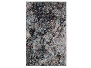 Mohawk Home Prismatic Layered Marble Graphite Abstract Precision Printed Area Rug, 5x8, Gray