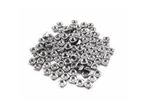 Honbay 100pcs 304 Stainless Steel M3 Square Nuts