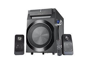 """Sykik Power SPP0298BT, Bluetooth Powerful 210W RMS, with 8"""" Active Subwoofer, 2X 8 Passive, Remote Control, SD, USB and FM Radio"""