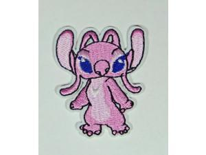 """Disneys Lilo & Stitch Movie Angel Character Embroidered Patch 2 3/4"""" Tall"""